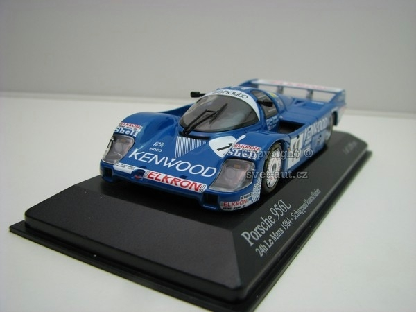 Porsche 956L 24h Le Mans 1984 No.11 Jones 1:43 Minichamps