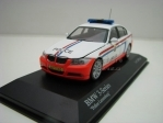 BMW 3-Series Police Luxemburg 1:43 Minichamps