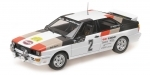 Audi Quattro No.2 Mikkola/Hertz Winner Swedish Rally 1981 1:18 Minichamps