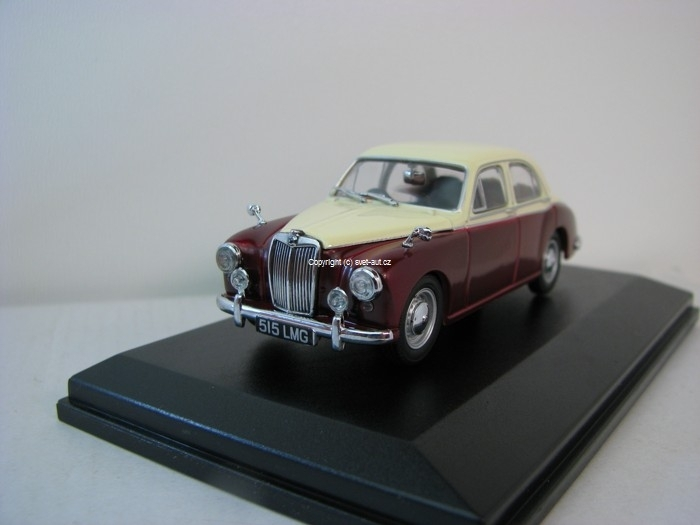 MG Z B Varitone Ivory red 1:43 Oxford
