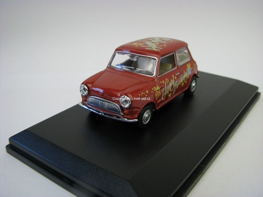 Austin Mini Happy Birthday 1:43 Oxford