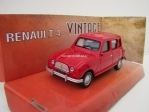Renault 4 red 1:43 Mondo