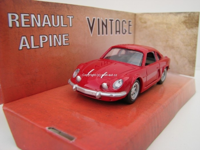 Renault Alpine red 1:43 Mondo