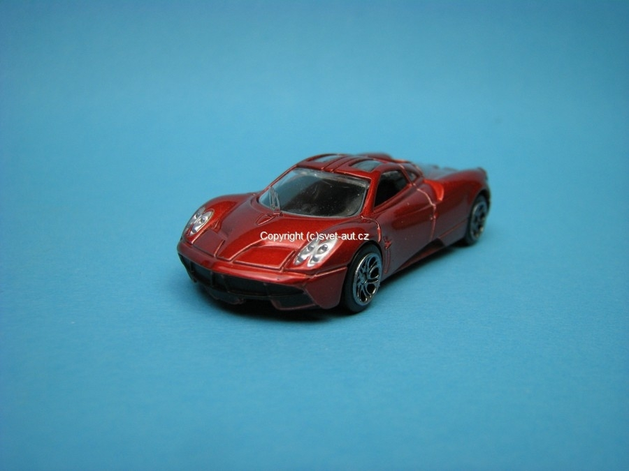 Pagani Huayra 2012 red 1:64 Mondo Motors