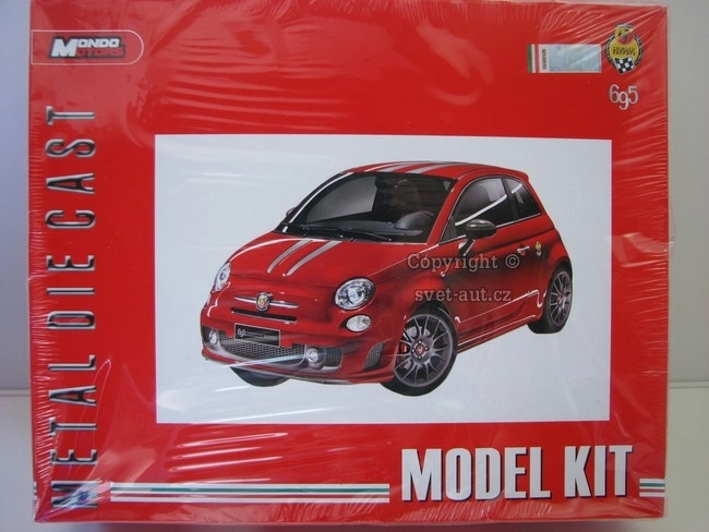 Fiat Abarth 695 Tributo Ferrari Kit 1:24 Mondo Motors