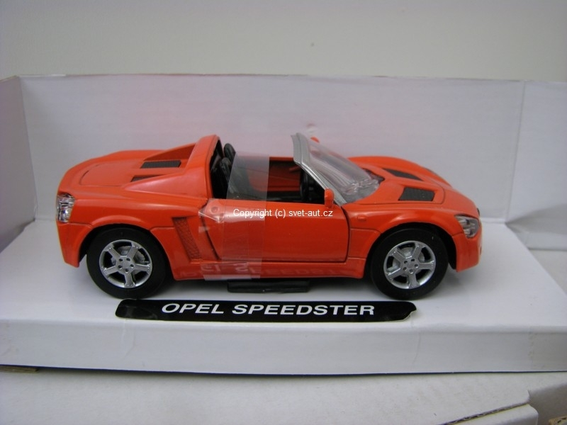 Opel Speedster orange 1:32 Mondo Motors