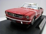 Ford Mustang 1964 1/2 Convertible Red 1:18 Motormax