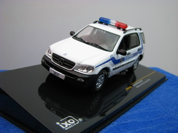 Mercedes-Benz ML320 Alabama Police 1:43 Ixo