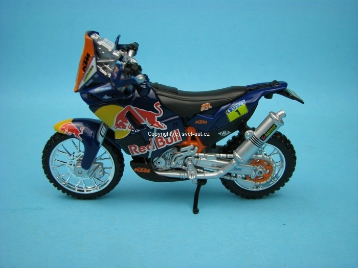 KTM 450 Rally Dakar No.1 Cyril Desires 1:18 Bburago