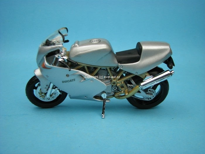 Ducati Supersport 900FE silver 1:18 Bburago