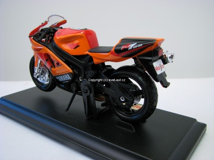 Yamaha YZF-R7 orange 1:18 Maisto