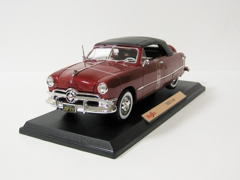 Ford 1950 Red 1:18 Maisto