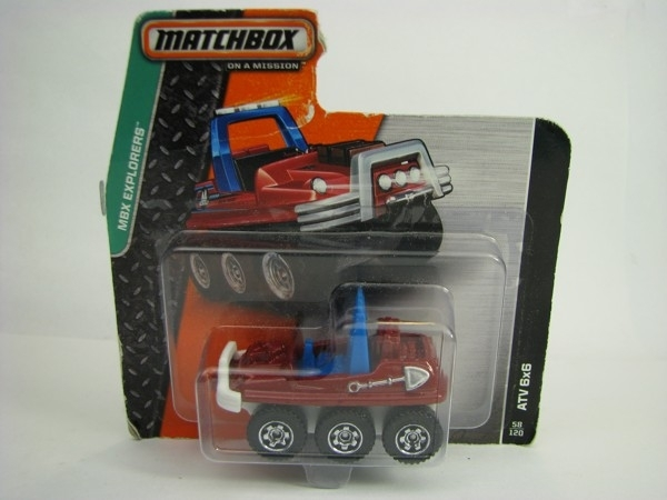 Matchbox - 2014 MBX Explorers 58/120 - ATV 6x6