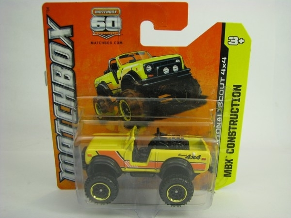 Matchbox 60Th Anniversary International Scout 4X4 MBX Construction