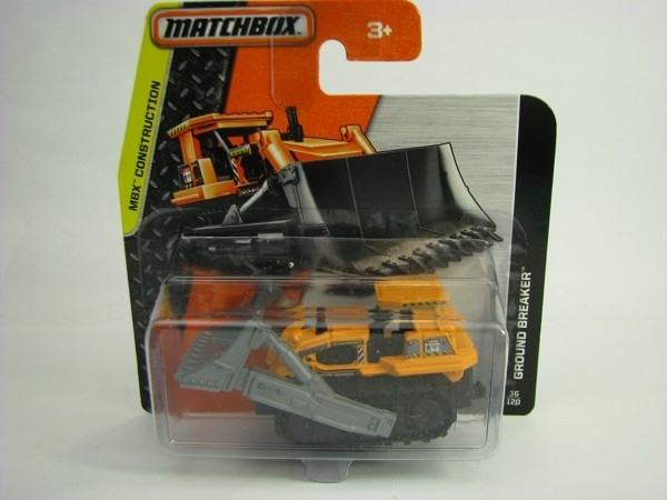 Matchbox - 2014 MBX Construction 36/120 - Ground Breaker