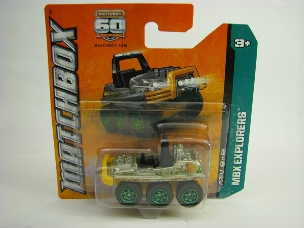 Matchbox 60Th ATV 6X6 MBX Explorers