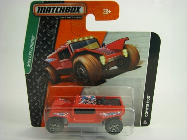 Matchbox - 2014 MBX Explorers 61/120 - Coyote 500