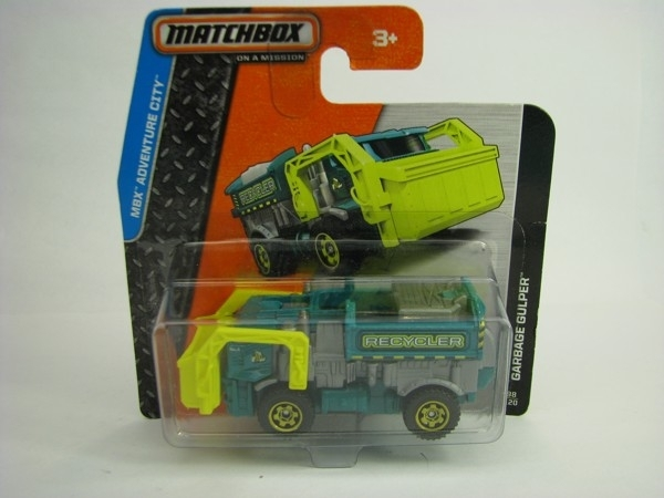 Matchbox - 2014 MBX Adventure City 98/120 - Garbage Gulper
