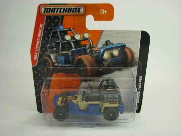 Matchbox - 2014 MBX Heroic Rescue 72/120 - Sahara Sweeper