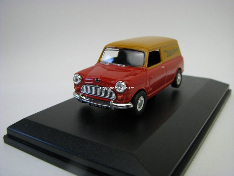 Austin Mini Van BSA Service 1:43 Oxford