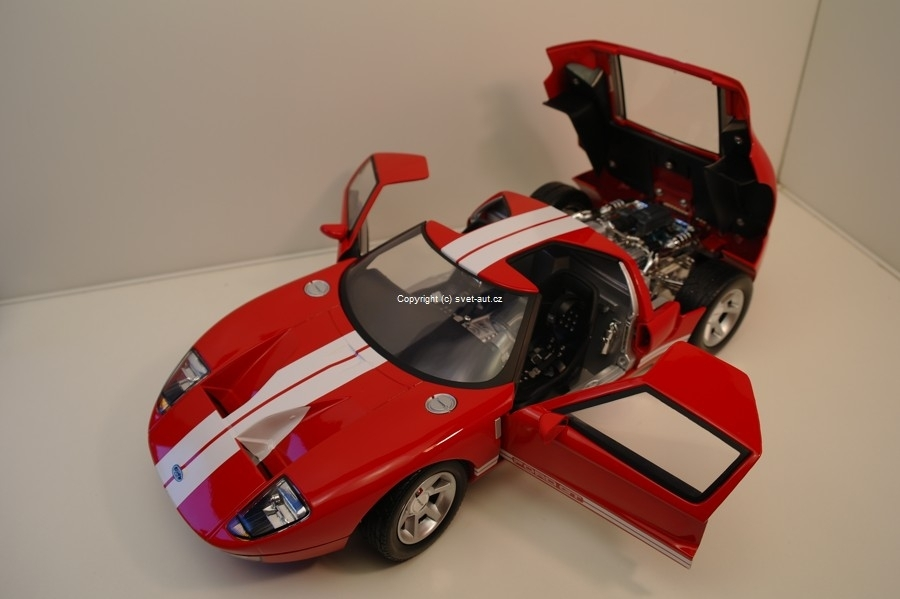 Ford GT Concept red 1:12 Motor Max
