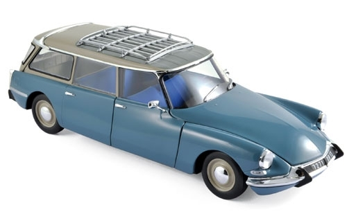 Citroen ID 19 Break 1967 - Monte Carlo Blue 1:18 Norev