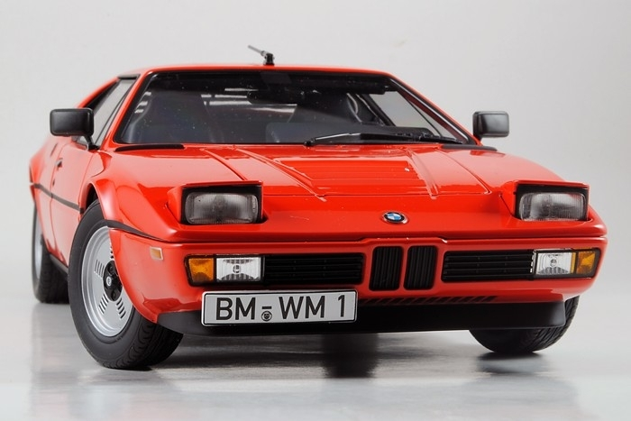 BMW M1 1978 Red Limited Edition 1:18 Norev