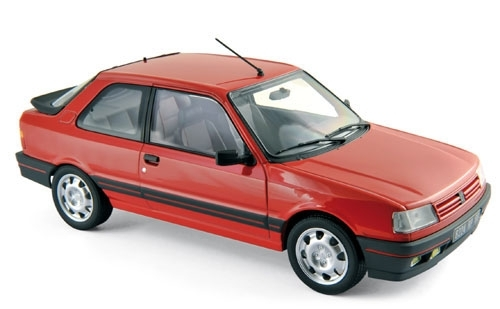 Peugeot 309 GTi 1987 Valunga Red 1:18 Norev