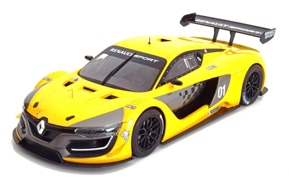 Renault R.S.01 2015 - Official Yellow Presentation Version 1:18 Norev
