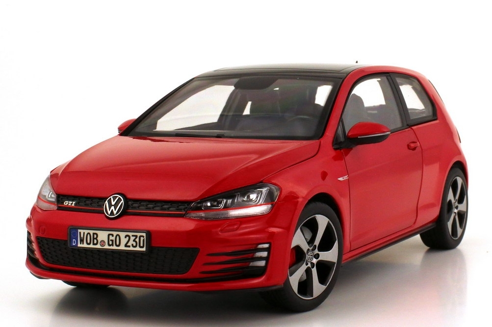 Volkswagen Golf VII GTI 2013 Red 1:18 Norev