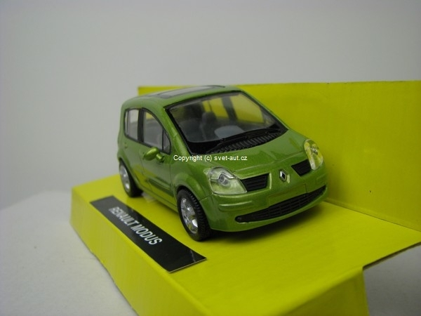 Renault Modus atraktiv green 1:43 New Ray