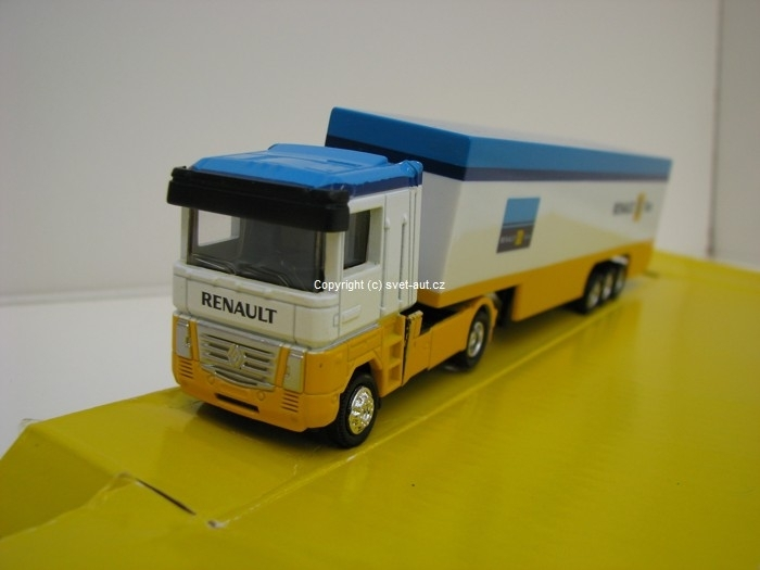Renault F1 Team kamion 1:87 New Ray