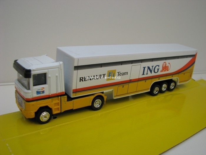 Renault F1 Team ING kamion 1:87 New Ray