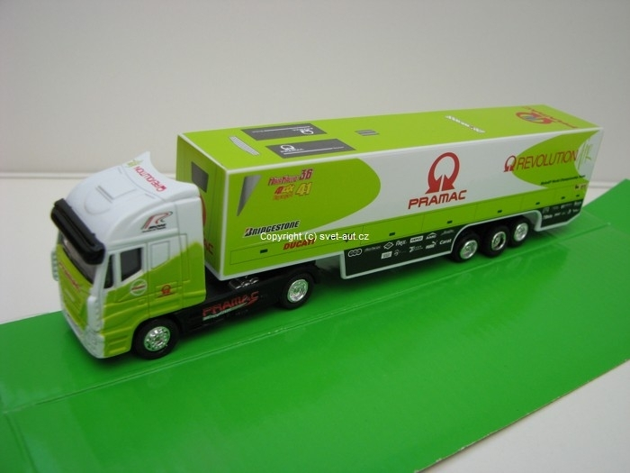 Iveco Stralis kamion Ducati Pramac 1:87 New Ray