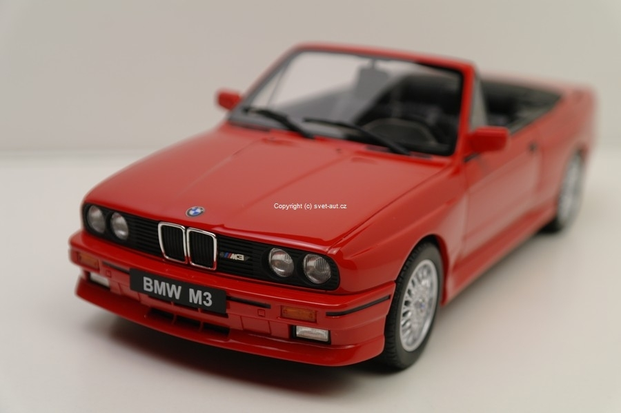 BMW M3 Cabrio red 1:18 Ottomobile
