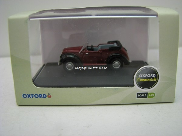 Morris Eight Tourer 1:76 Oxford