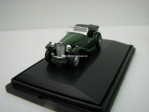 MG TC Racing green 1:76 Oxford