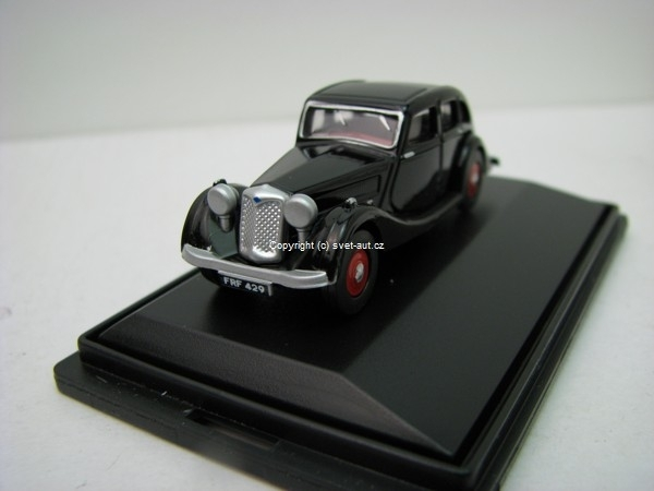 Riley Kestrel black 1:76 Oxford