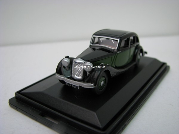 Riley Kestrel green black 1:76 Oxford