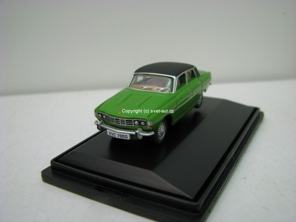 Rover P6 green 1:76 Oxford