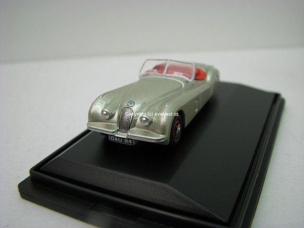 Jaguar XKJ120 silver 1:76 Oxford