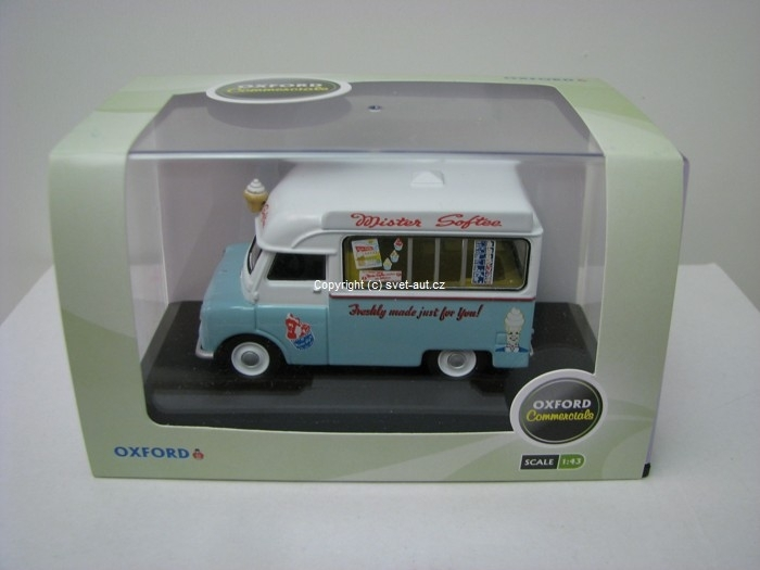 Bedford Mr.Softee CA Ice Cream 1:43 Oxford
