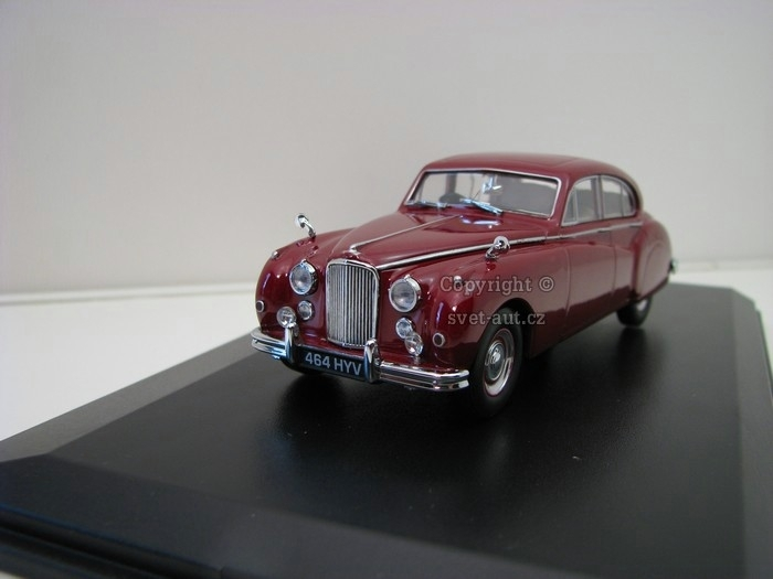 Jaguar Mk VII Ciaret Metallic 1:43 Oxford