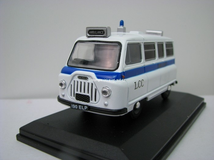 Morris J2 Ambulance 1:43 Oxford