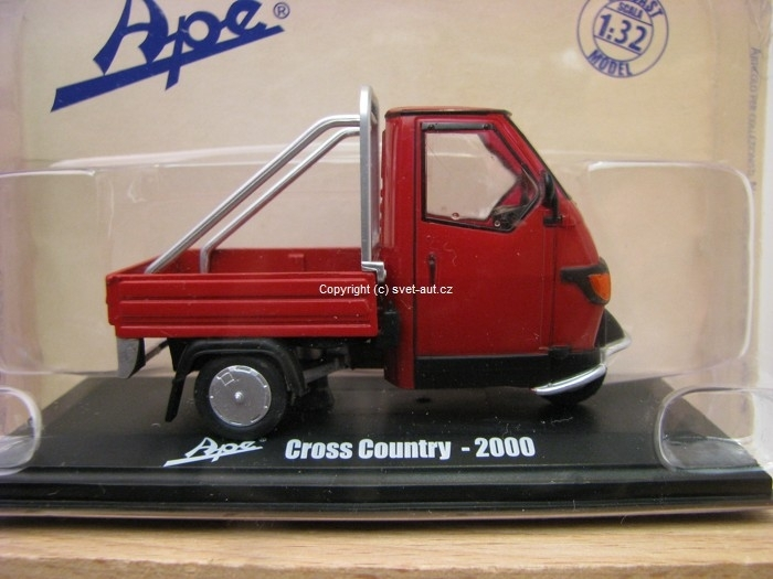 Ape Piagio Cross Country - 2000 1:32 Italeri