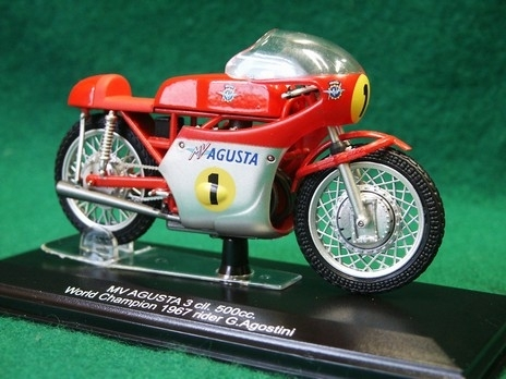 MV Agusta 3 col. 500cc World Champion 1967 No.1 Agostini 1:22 Italeri Protar