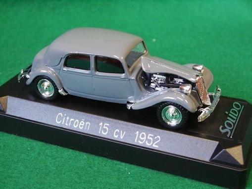 Citroen 15 CV 1952 Grey 1:43 Solido