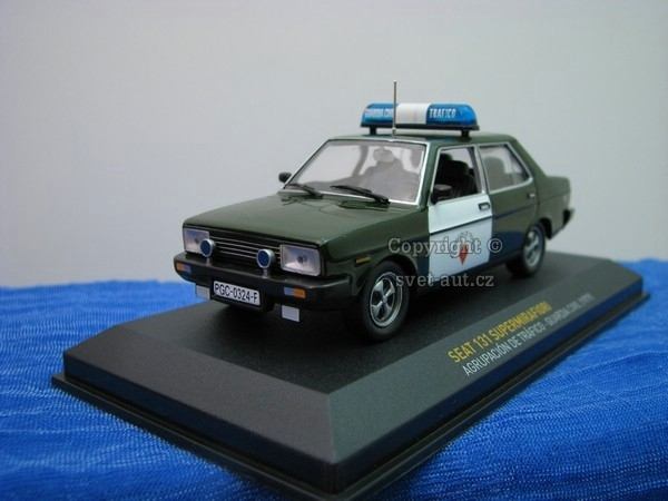 Seat 131 Supermirafiori Guardia Civil 1979 Atlas