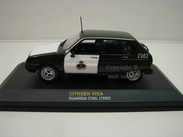 Citroen Visa Guardia Civil 1982 1:43 Atlas