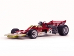 Lotus type 72C No.5 Jochen Rindt 1970 Britisch GP Winner 1:18 Quartzo